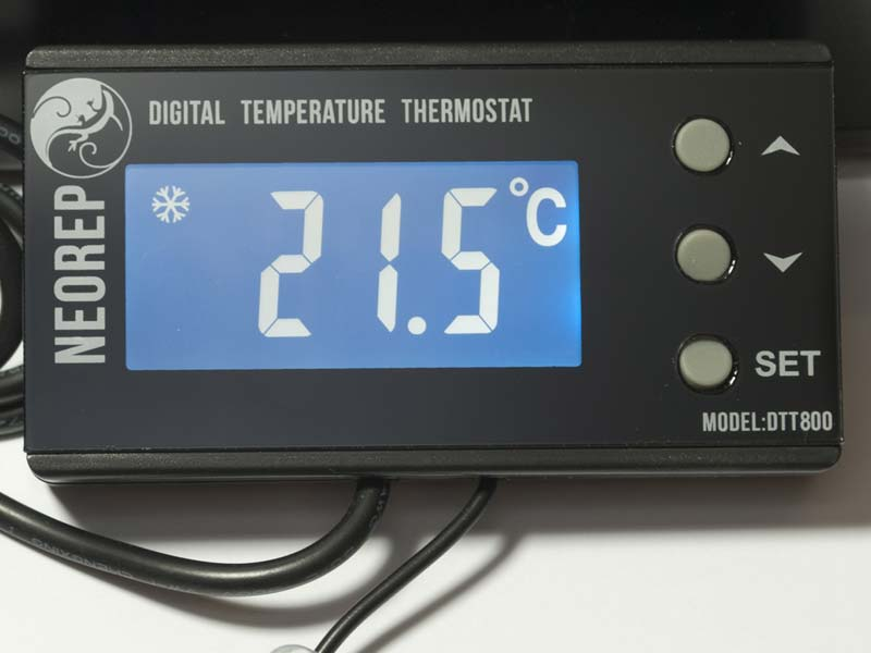 Digital Vivarium Reptile On Off Thermostat Heat Mats And