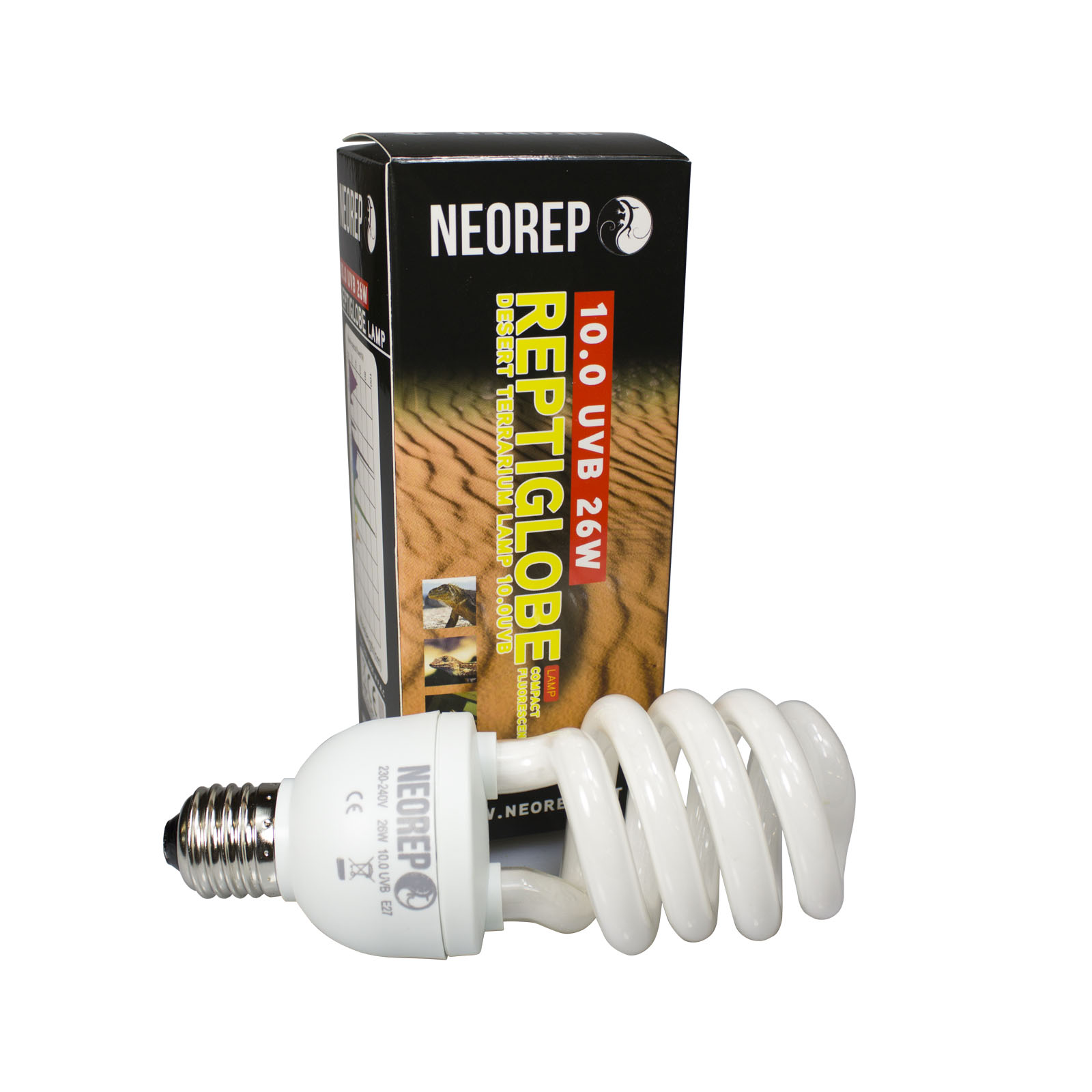 Compact Fluorescent Lamp Uvb 10 0 26w Neo Reptile Products